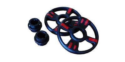 Пластиковые разборные колеса