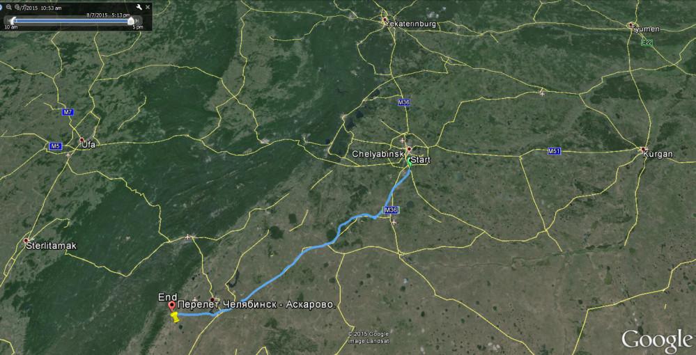 Трек Челябинск-Аскарово