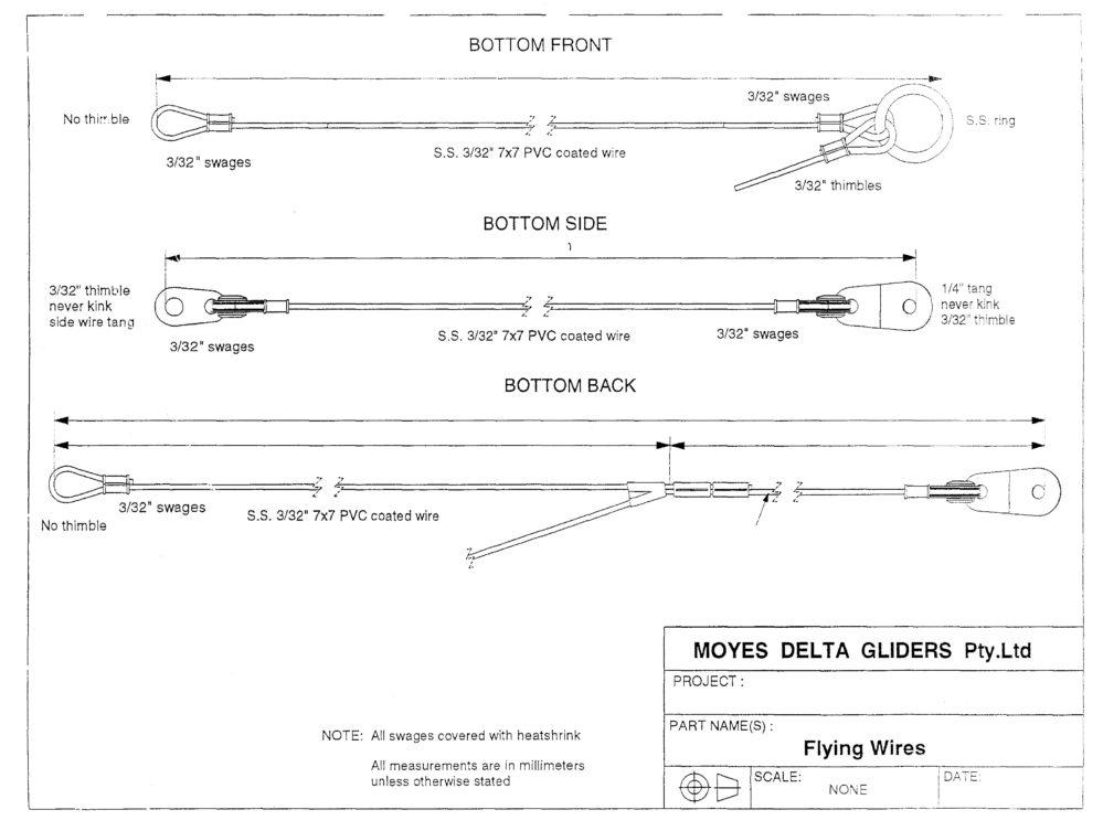 Как измерить длину тросов